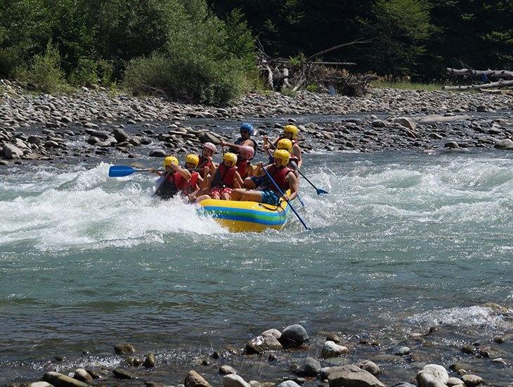 Рафтинг река Белая 1