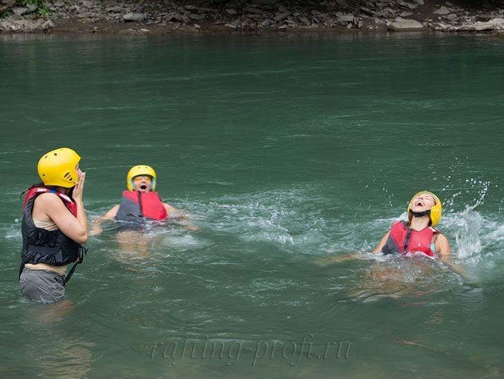 Рафтинг река Белая 8