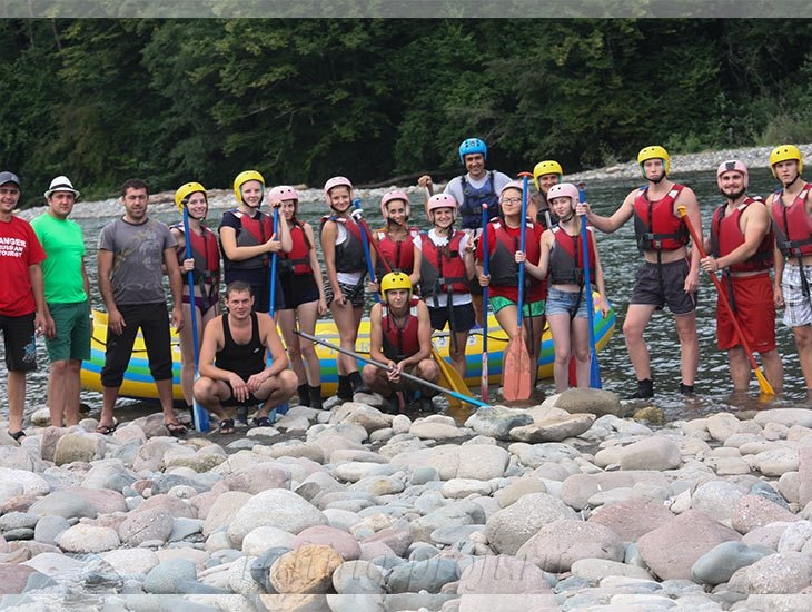 Рафтинг река Белая 5