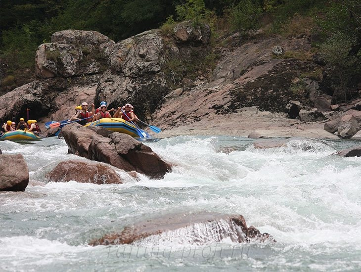 Рафтинг река Белая 2