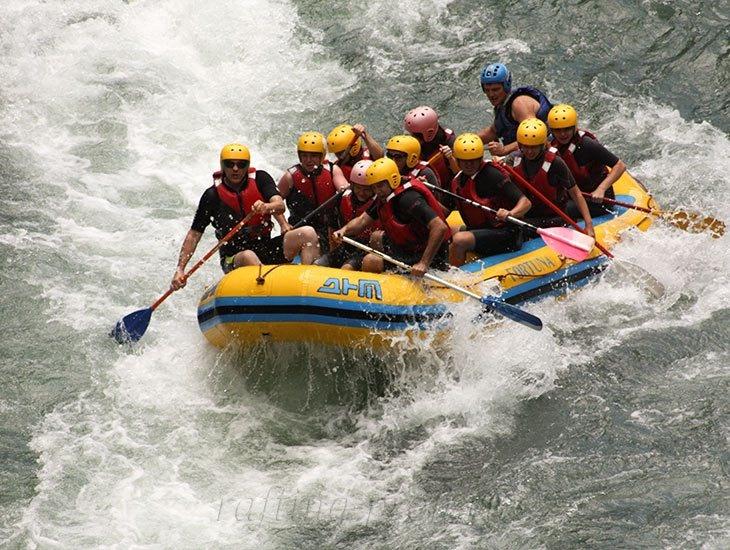Рафтинг река Белая 33