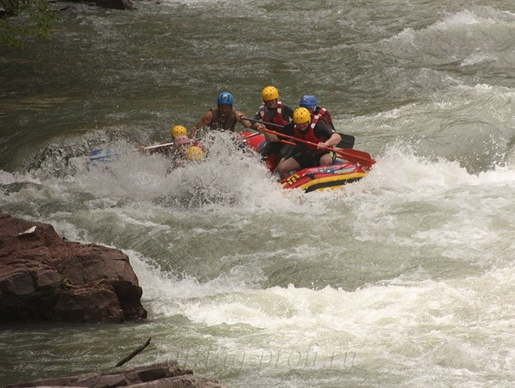 Рафтинг река Белая 25