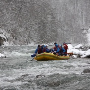 Рафтинг Зимой По Реке Белой 36