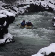 Рафтинг Зимой По Реке Белой 11