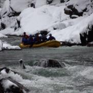 Рафтинг Зимой По Реке Белой 24