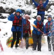 Рафтинг Зимой По Реке Белой 31