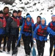 Рафтинг Зимой По Реке Белой 33